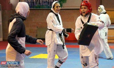 زهرا پور اسماعیل و ملیکا میرحسینی 400x240 زهرا پور اسماعیل آماده بازگشت به میادین تکواندو