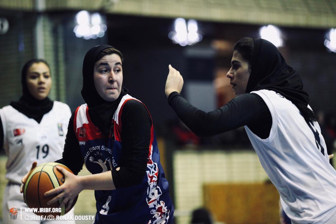 هفته دهم لیگ برتر بسکتبال بانوان | پیروزی نامی نو، بهمن و نفت آبادان برابر حریفان
