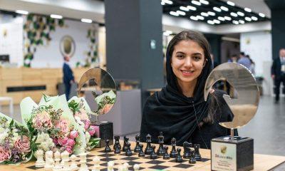 سارا خادم الشریعه 400x240 سارا خادم الشریعه از تیم ملی شطرنج کناره گیری کرد | سکوتم از رضایت نیست