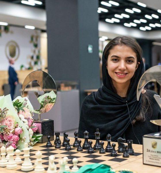 سارا خادم الشریعه 560x600 سارا خادم الشریعه در رده چهاردهم جدول فیده