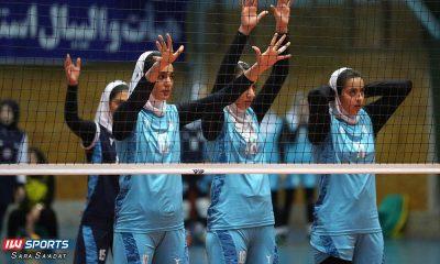 سایپا و پیکان لیگ برتر والیبال بانوان 16 400x240 تیم های باریج اسانس و پیکان در شیراز و قزوین به دنبال کسب پیروزی