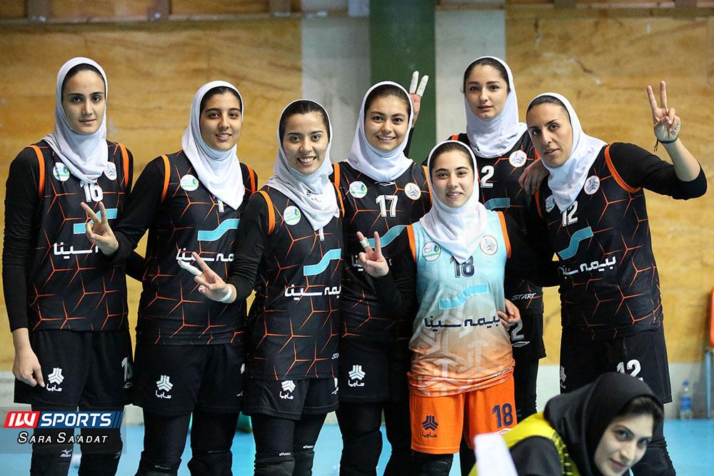 رسمی : سایپا قهرمان لیگ برتر والیبال زنان شد