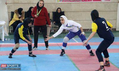 مرحله دوم لیگ برتر کبدی بانوان در قزوین 3 400x240 تصاویری از دور دوم لیگ برتر کبدی بانوان در قزوین