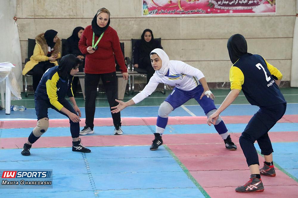تصاویری از دور دوم لیگ برتر کبدی بانوان در قزوین