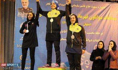 مسابقات دوگانه بانوان کشور در اصفهان 6 400x240 سپاهان اصفهان قهرمان لیگ دوگانه بانوان کشور شد