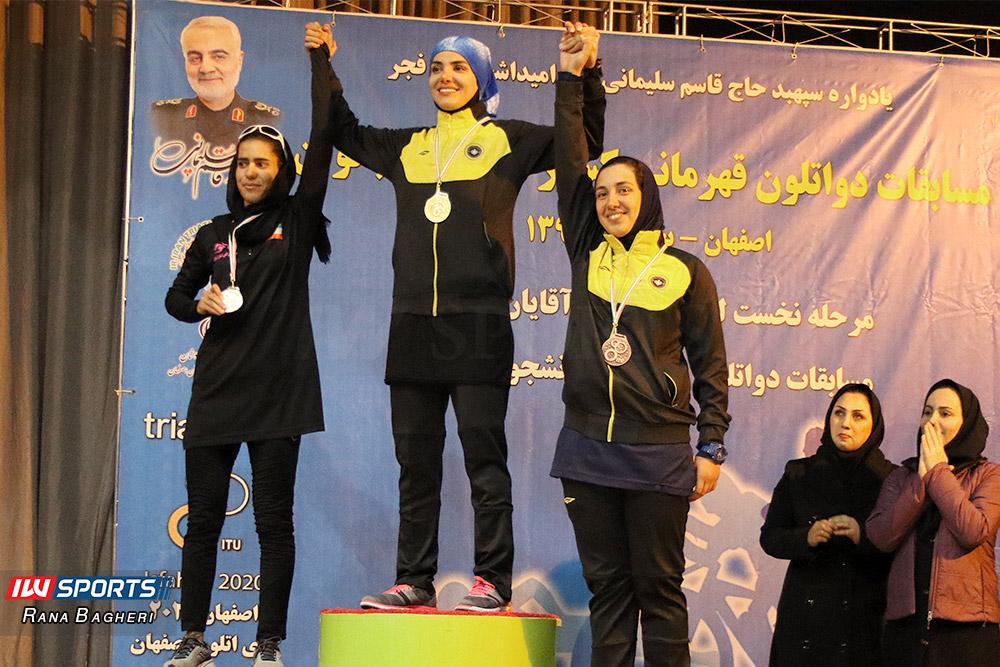سپاهان اصفهان قهرمان لیگ دوگانه بانوان کشور شد