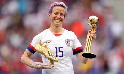 مگان راپینو 400x240 مگان راپینو و جملات قصار یک ستاره ؛ با افکار بهترین فوتبالیست زن جهان آشنا شوید