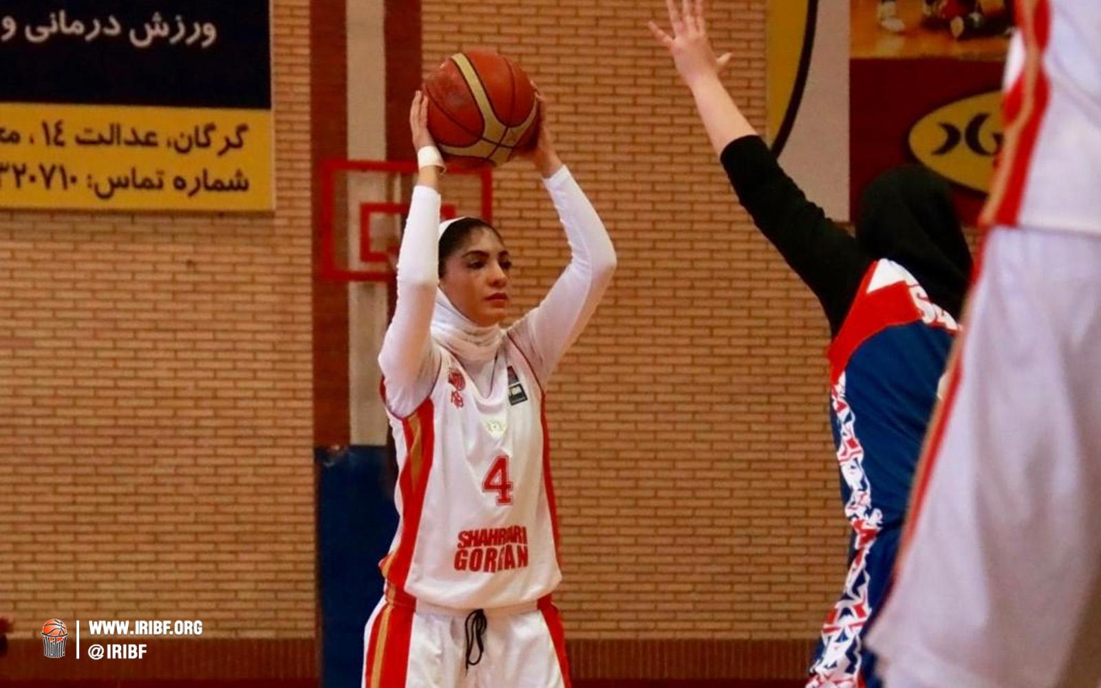 بانوان شهر گرگان به فینال لیگ برتر بسکتبال زنان راه پیدا کرد