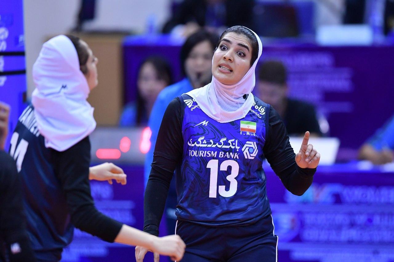 والیبال بانوان ایران و قزاقستان در مقدماتی المپیک 2 تصاویر دیدار تیمهای والیبال بانوان ایران و قزاقستان