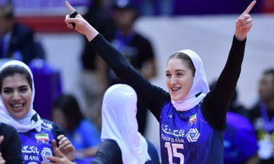 والیبال بانوان ایران و قزاقستان در مقدماتی المپیک 9 400x240 تصاویر دیدار تیمهای والیبال بانوان ایران و قزاقستان
