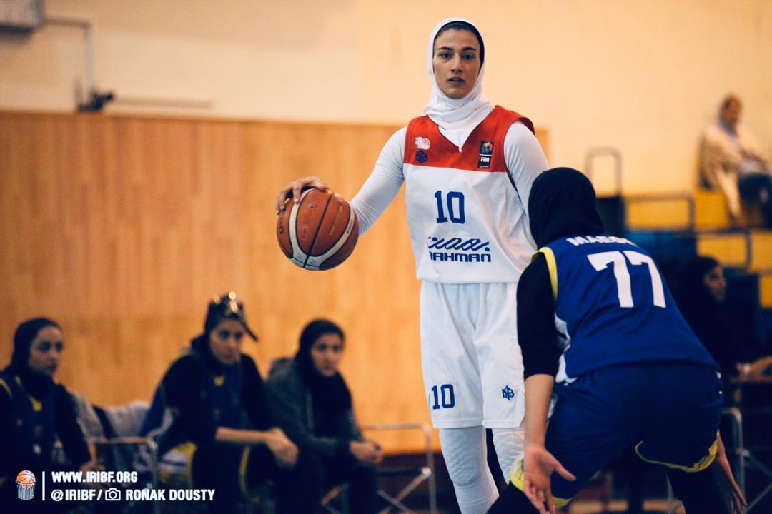 گروه بهمن یک گام به قهرمانی لیگ برتر بسکتبال نزدیک شد