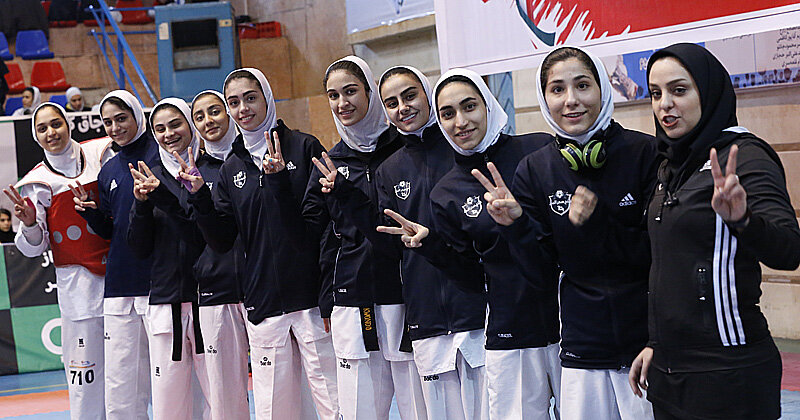 باشگاه خوش حسابها | درباره فتح صدر البرز ، قدرت تازه تکواندوی زنان ایران