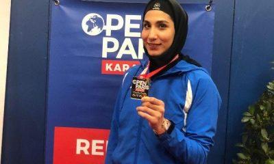3361753 400x240 ویدئو | نظرات حمیده عباسعلی پس از کسب مدال طلای لیگ جهانی کاراته