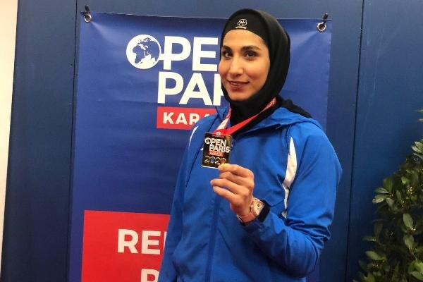 ویدئو | نظرات حمیده عباسعلی پس از کسب مدال طلای لیگ جهانی کاراته