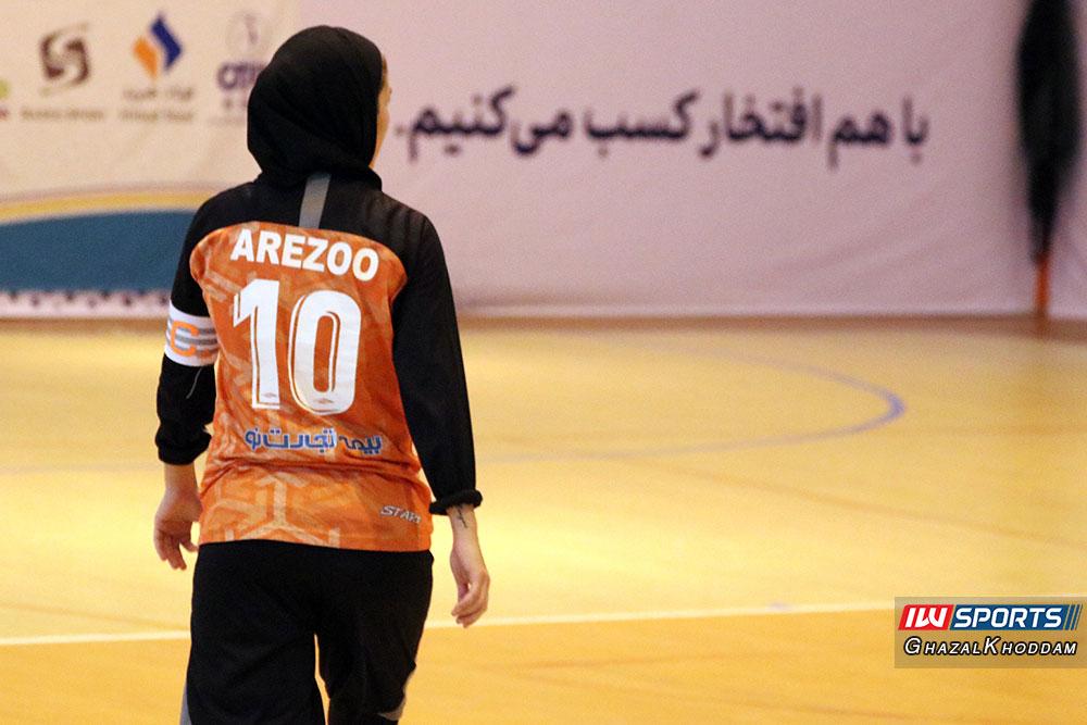 آرزو صدقیانی زاده گزارش تصویری دیدار سایپا و حفاری خوزستان در نیمه نهایی لیگ برتر فوتسال