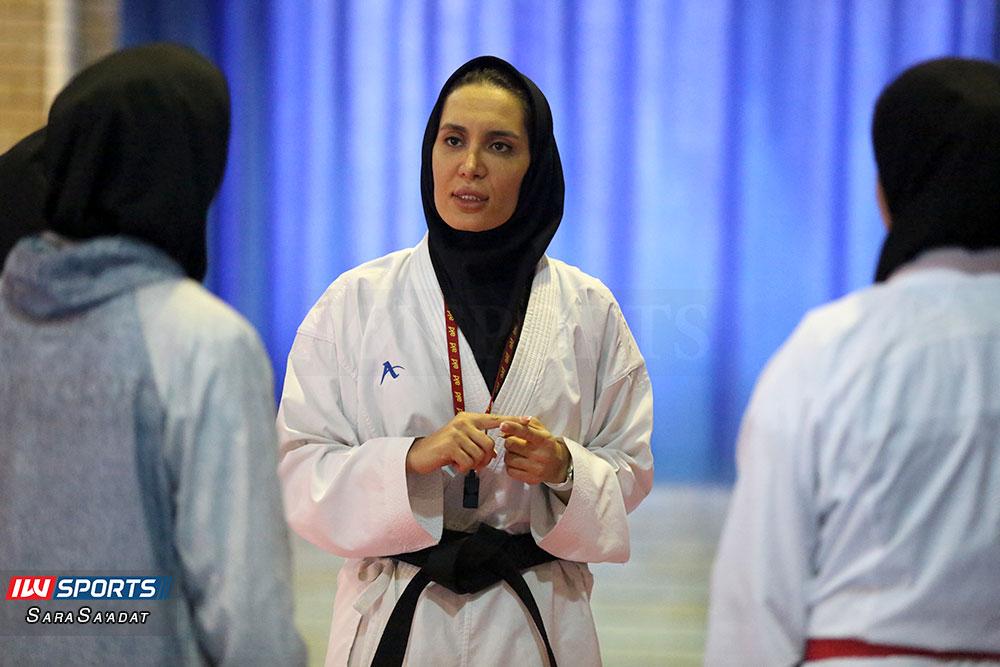 تمرین تیم ملی سمانه خوش قدم کاراته بانوان گزارش تصویری تمرین تیم ملی کاراته زنان در آکادمی ملی المپیک