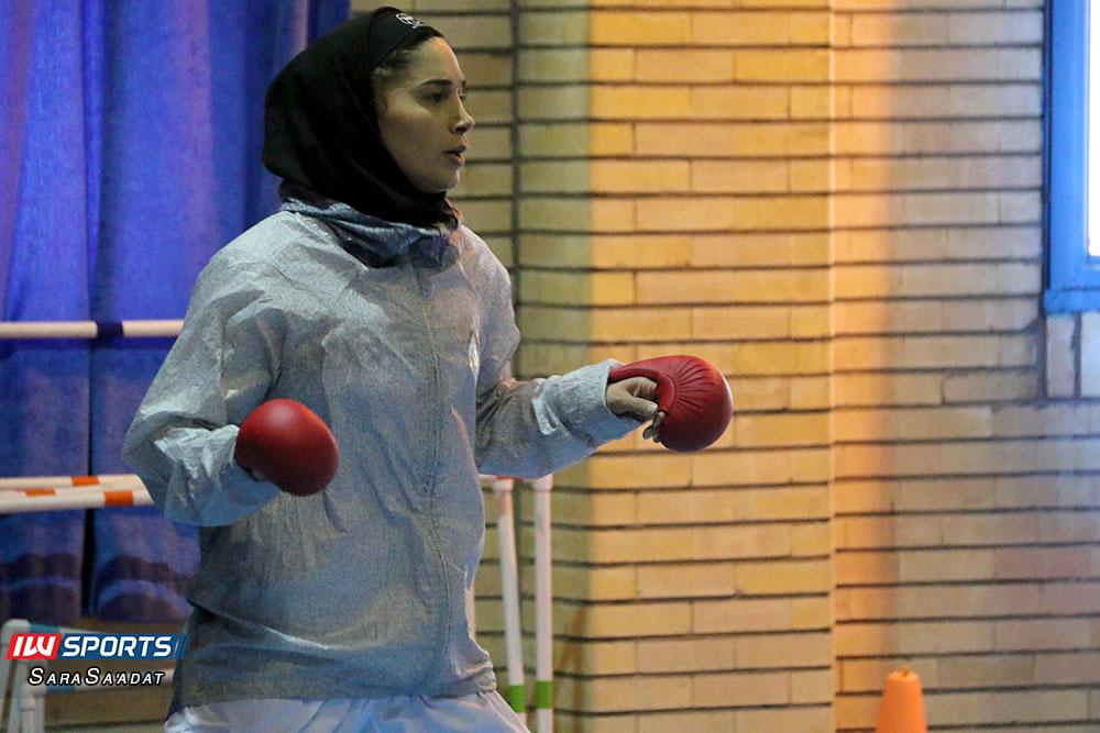 تمرین تیم ملی کاراته بانوان رزیتا علیپور گزارش تصویری تمرین تیم ملی کاراته زنان در آکادمی ملی المپیک