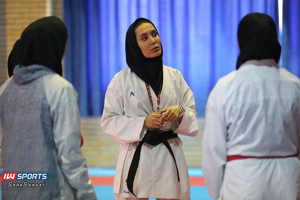 تمرین تیم ملی کاراته بانوان سمانه خوش قدم گزارش تصویری تمرین تیم ملی کاراته زنان در آکادمی ملی المپیک