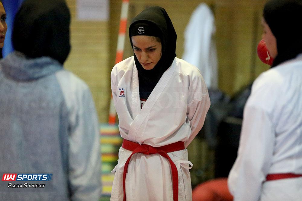 تمرین تیم ملی کاراته بانوان طراوت خاکسار گزارش تصویری تمرین تیم ملی کاراته زنان در آکادمی ملی المپیک