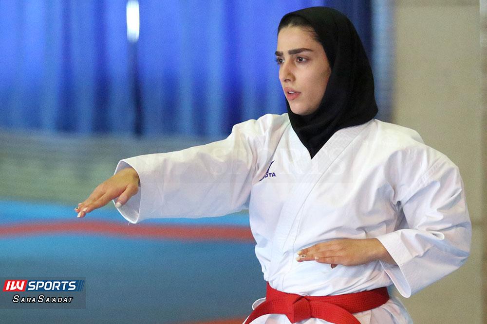 تمرین تیم ملی کاراته بانوان فاطمه صادقی گزارش تصویری تمرین تیم ملی کاراته زنان در آکادمی ملی المپیک