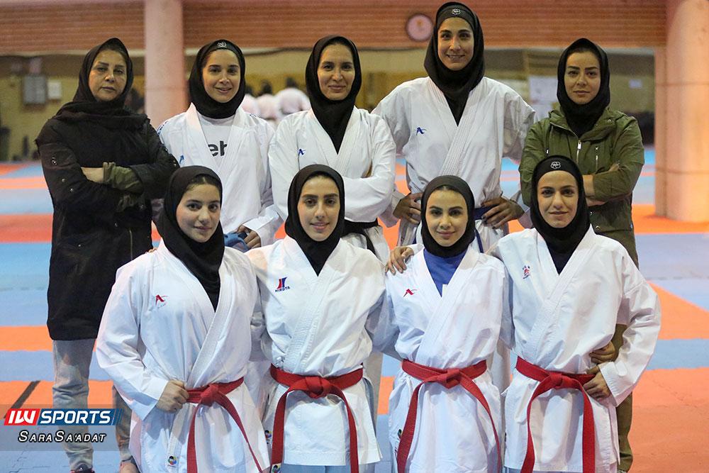تمرین تیم ملی کاراته بانوان 11 گزارش تصویری تمرین تیم ملی کاراته زنان در آکادمی ملی المپیک
