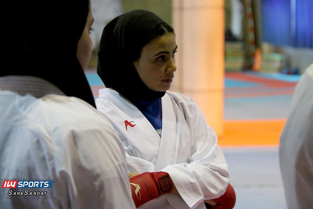 تمرین تیم ملی کاراته بانوان 15 گزارش تصویری تمرین تیم ملی کاراته زنان در آکادمی ملی المپیک