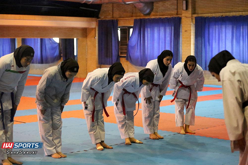 تمرین تیم ملی کاراته بانوان 8 گزارش تصویری تمرین تیم ملی کاراته زنان در آکادمی ملی المپیک
