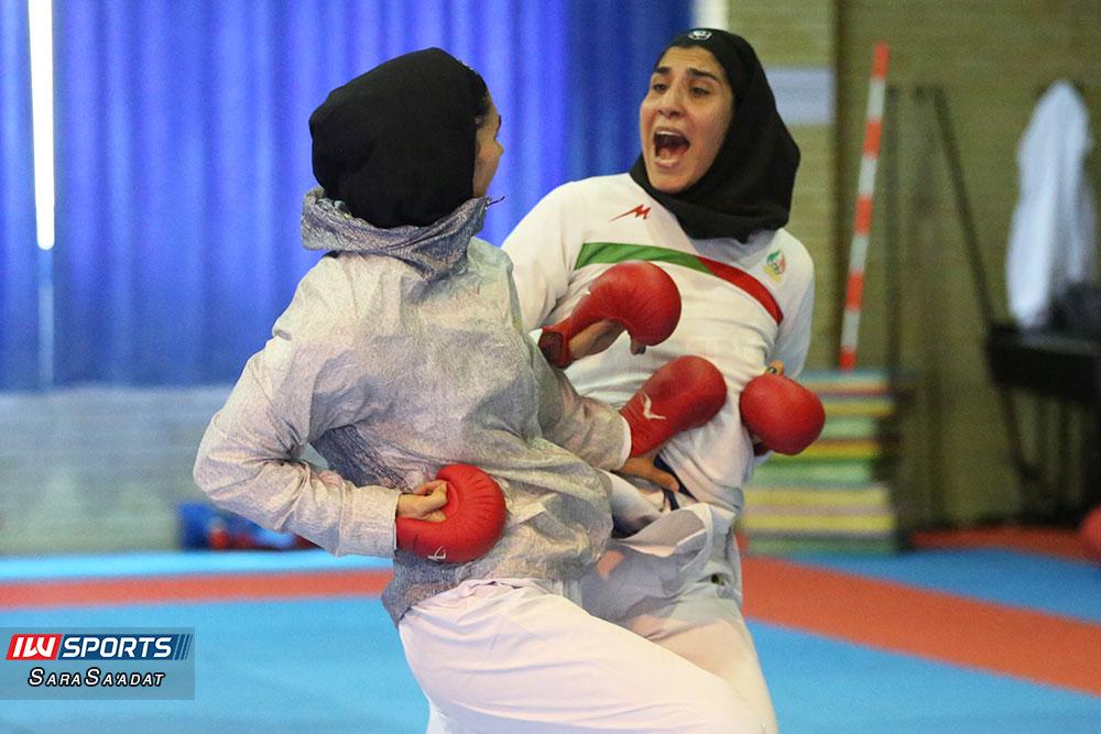 گزارش تصویری تمرین تیم ملی کاراته زنان در آکادمی ملی المپیک