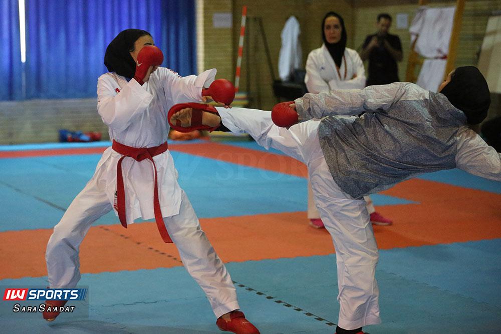 تمرین تیم ملی کاراته سارا بهمنیار گزارش تصویری تمرین تیم ملی کاراته زنان در آکادمی ملی المپیک