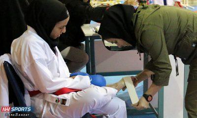 تمرین تیم ملی کاراته طراوت خاکسار 400x240 روزهای بی طراوت