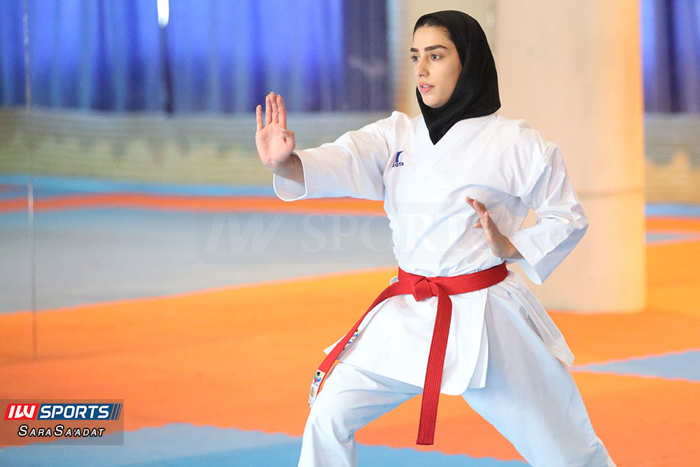 تمرین تیم ملی کاراته کاتا فاطمه صادقی گزارش تصویری تمرین تیم ملی کاراته زنان در آکادمی ملی المپیک