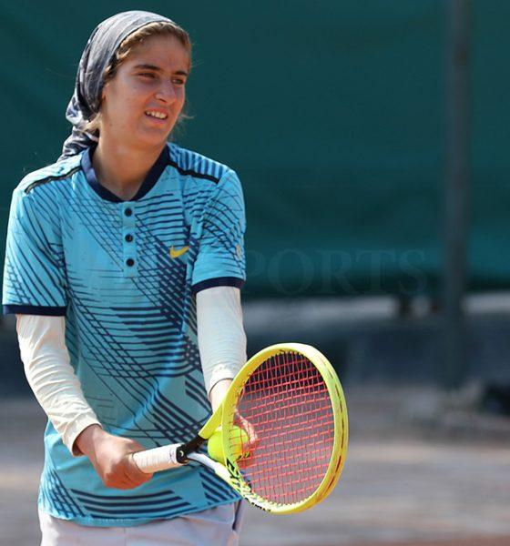 تور تنیس بانوان کیش مشکات الزهرا صفی 1 560x600 گزارش تصویری تور تنیس زیر 18 سال دختران در کیش و قهرمانی مشکات الزهرا صفی