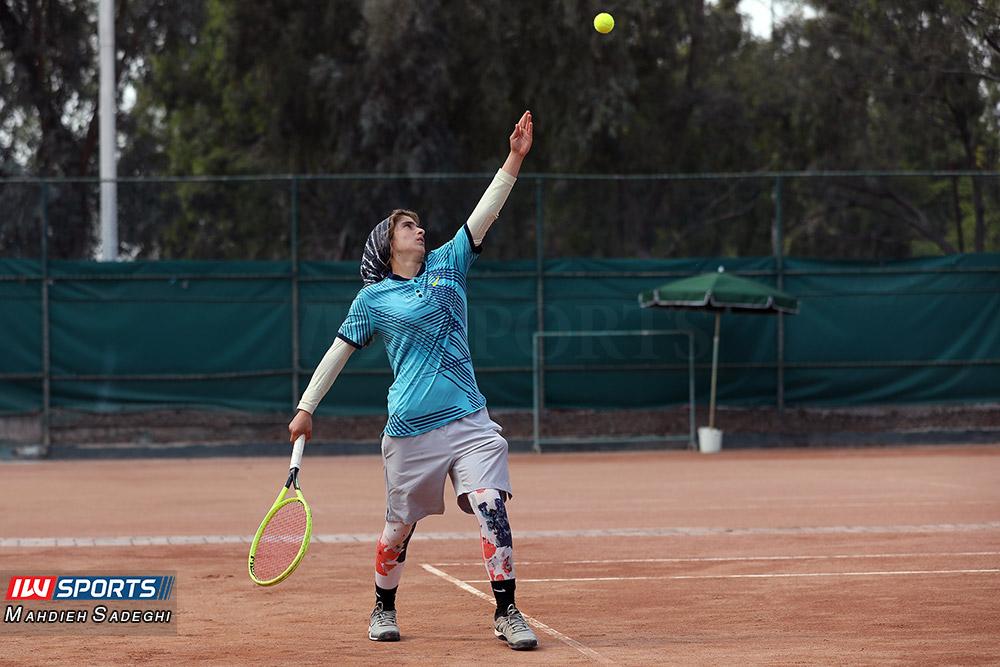 تور تنیس بانوان کیش مشکات الزهرا صفی 7 گزارش تصویری تور تنیس زیر 18 سال دختران در کیش و قهرمانی مشکات الزهرا صفی