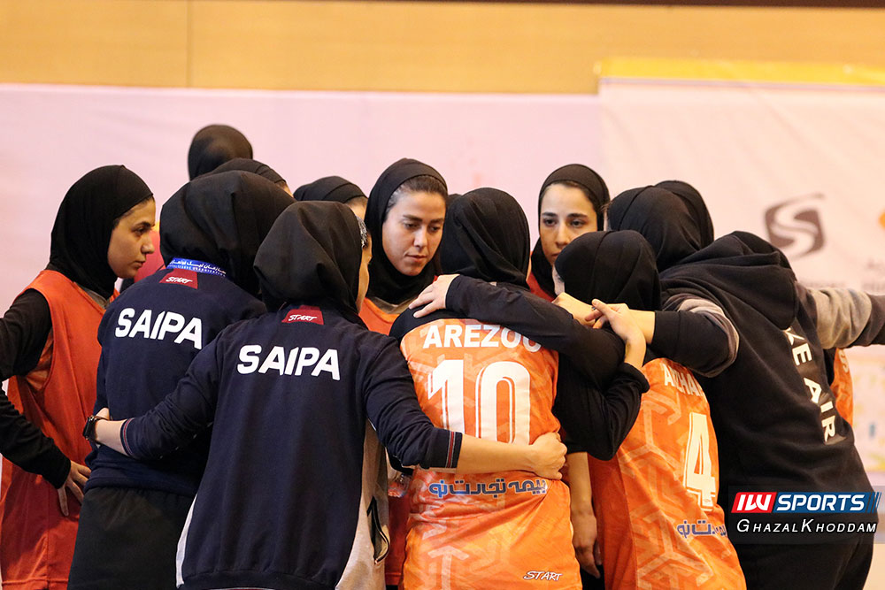 تیم فوتسال زنان سایپا گزارش تصویری دیدار سایپا و حفاری خوزستان در نیمه نهایی لیگ برتر فوتسال