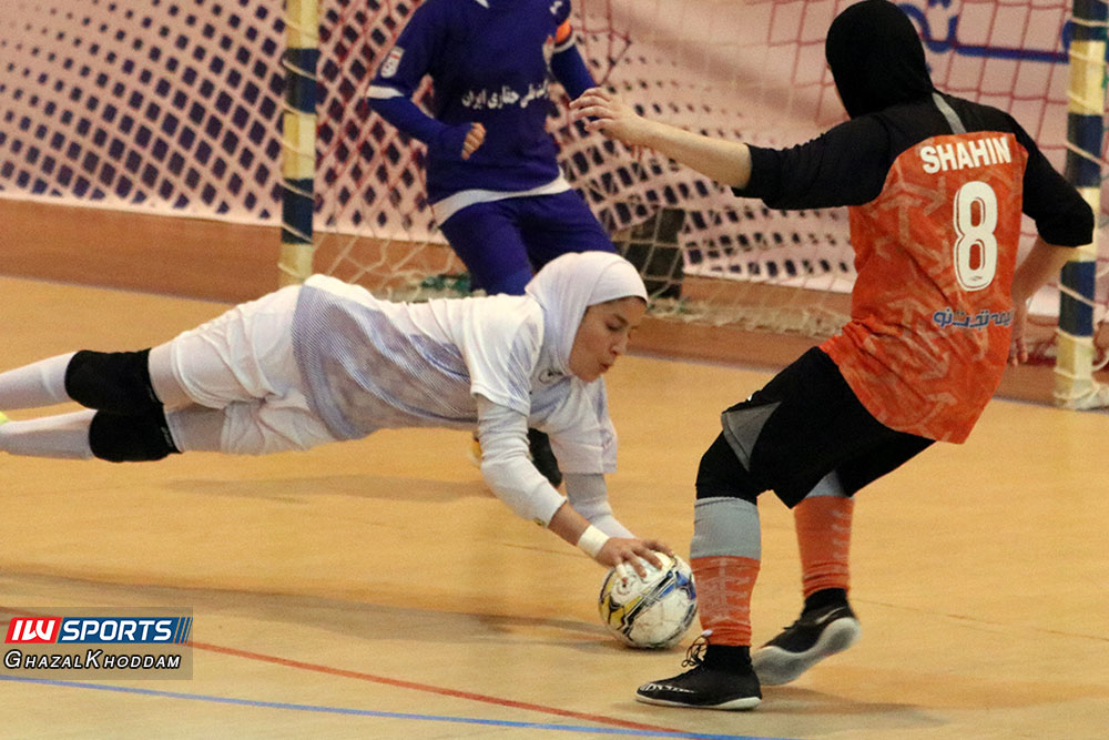 طاهره مهدی پور گزارش تصویری دیدار سایپا و حفاری خوزستان در نیمه نهایی لیگ برتر فوتسال