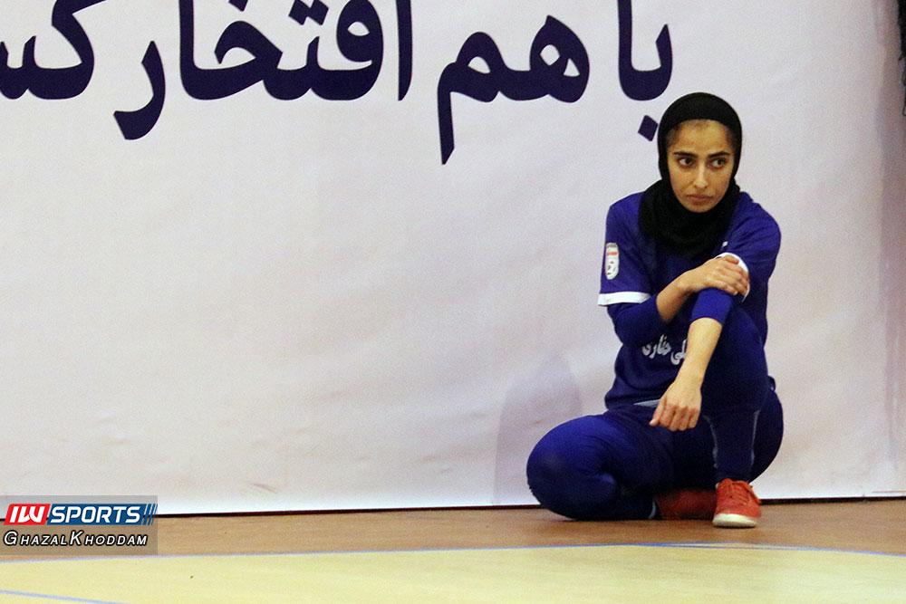 فوتسال زنان ملی حفاری اهواز گزارش تصویری دیدار سایپا و حفاری خوزستان در نیمه نهایی لیگ برتر فوتسال