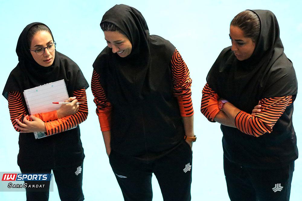 ویدئو | نظرات فاطمه حسنی و مریم هاشمی پس از پیروزی سایپا برابر اکسون