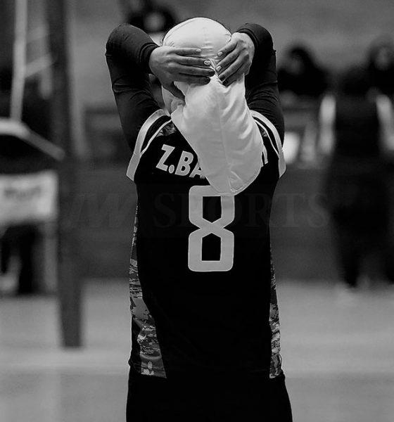 لیگ برتر والیبال بانوان اکسون و پیکان زهرا بخشی 560x600 تصاویر منتخب سال ۹۸ ورزش زنان ایران – قسمت اول