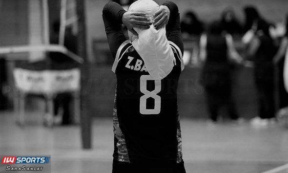 لیگ برتر والیبال بانوان اکسون و پیکان زهرا بخشی 590x354 تصاویر منتخب سال ۹۸ ورزش زنان ایران – قسمت اول