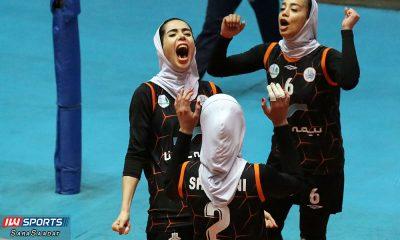 لیگ برتر والیبال زنان سایپا و ذوب آهن سودابه باقرپور 400x240 ما والیبال را زندگی کردهایم...