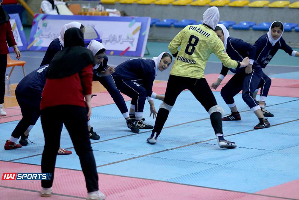 گزارش تصویری | دور سوم لیگ برتر کبدی بانوان در مشهد