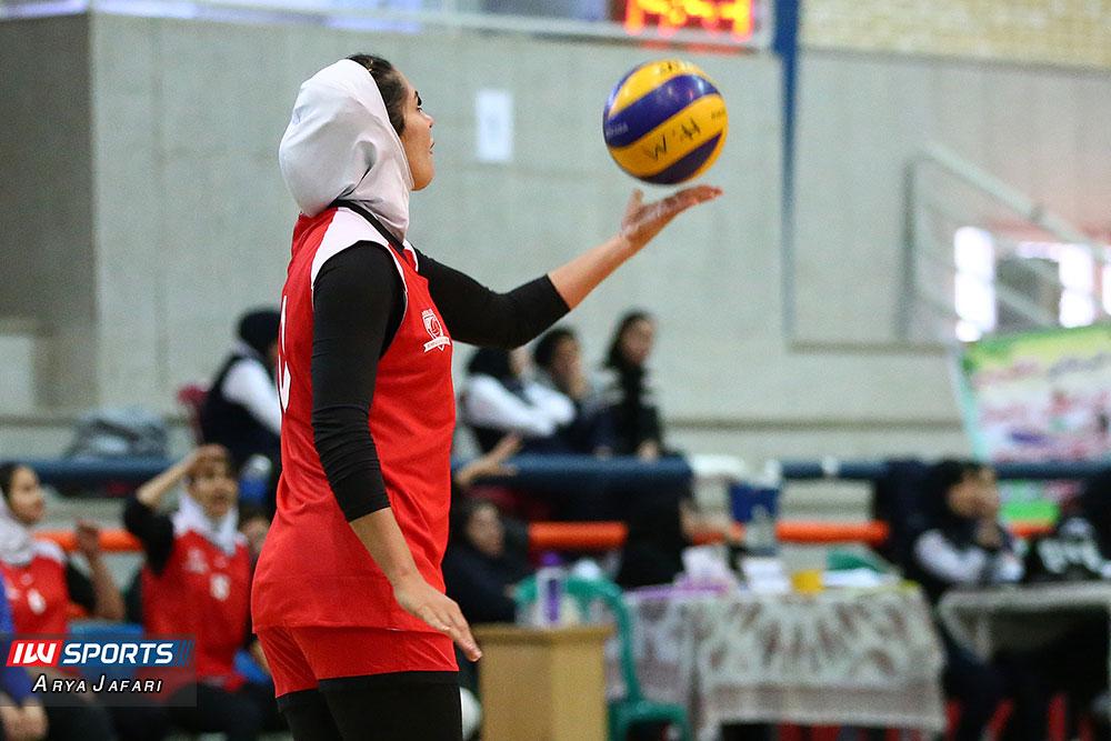 آغاز مرحله نیمه نهایی دسته اول والیبال زنان از اول بهمن