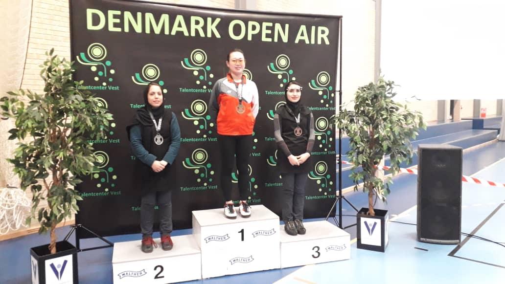 ۹ مدال برای تیراندازها در دانمارک | دختران تیرانداز راهی هانوفر شدند