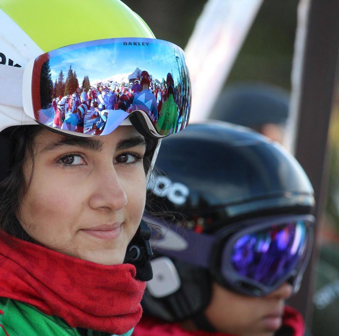 آرتمیس حسینی دختران برفی ؛ رکسانا ساوه شمشکی و آرتمیس حسینی اسکی بازان ایران در المپیک جوانان