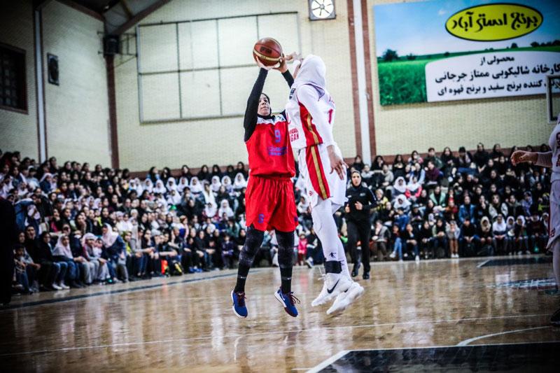 هواداران بسکتبال گرگان ؛ نقطه عطف ورزش زنان ایران