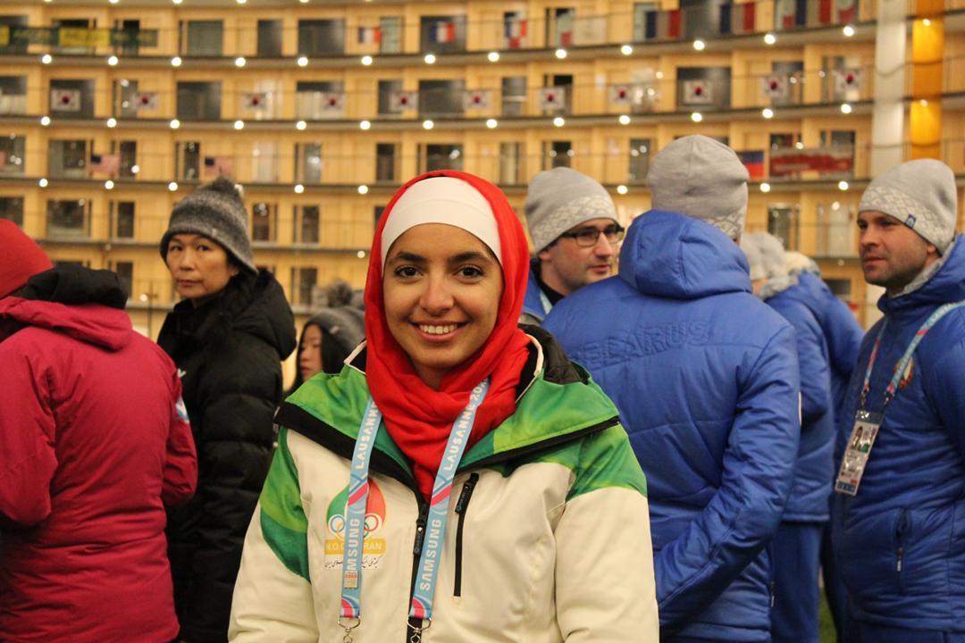 رکسانا دو دختران برفی ؛ رکسانا ساوه شمشکی و آرتمیس حسینی اسکی بازان ایران در المپیک جوانان