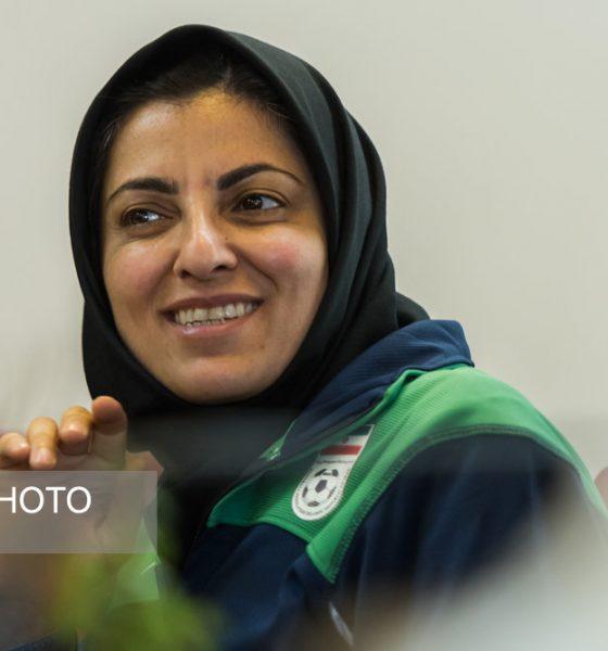 57685710 560x600 شهرزاد مظفر: دوست دارم به فوتسال ایران برگردم