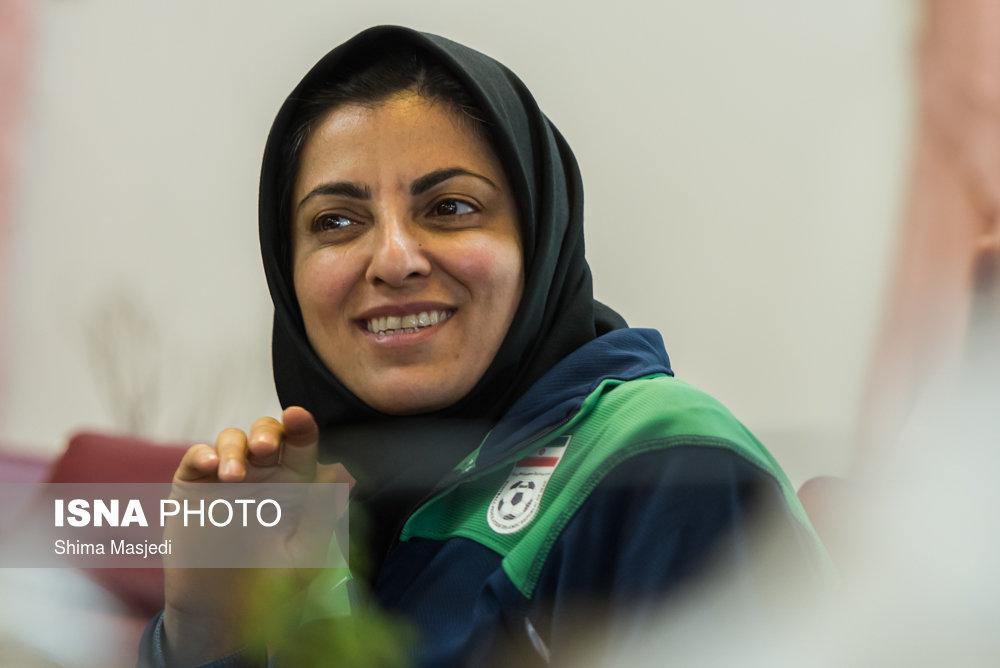 57685710 شهرزاد مظفر: دوست دارم به فوتسال ایران برگردم