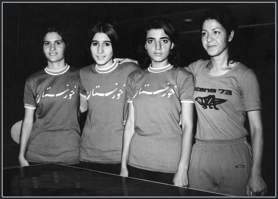 با یاد ستارهها؛ ایران الیاس ون و تاریخ تنیس روی میز زنان