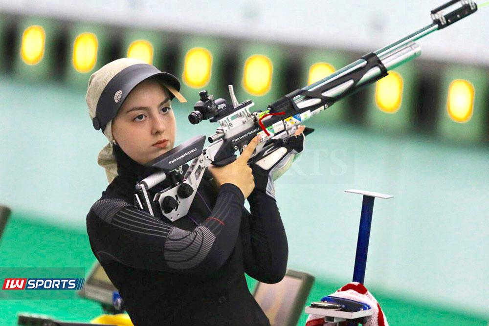 سال طلایی آرمینا صادقیان | جوان ترین عضو کاروان ایران در المپیک آینده
